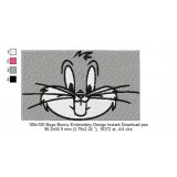 100x100 Bugs Bunny Embroidery Design Instant Download