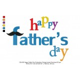 130x180 Happy Father Day Embroidery Design Instant Download 02
