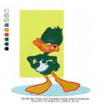 130x180 Witty Plucky Duck Embroidery Design Instant Download