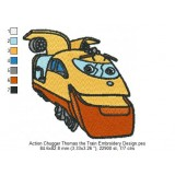 Action Chugger Thomas the Train Embroidery Design