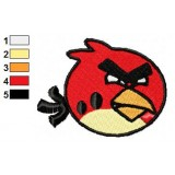Angry Birds Embroidery Design 002