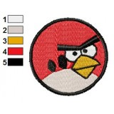 Angry Birds Embroidery Design 005