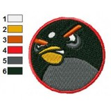 Angry Birds Embroidery Design 006