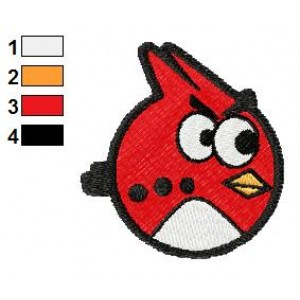 Angry Birds Embroidery Design 010