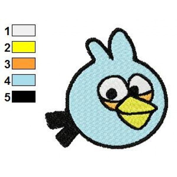 Angry birds space embroidery design 11 for Space embroidery patterns