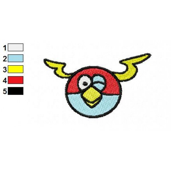 Angry birds space embroidery design 12 for Space embroidery patterns