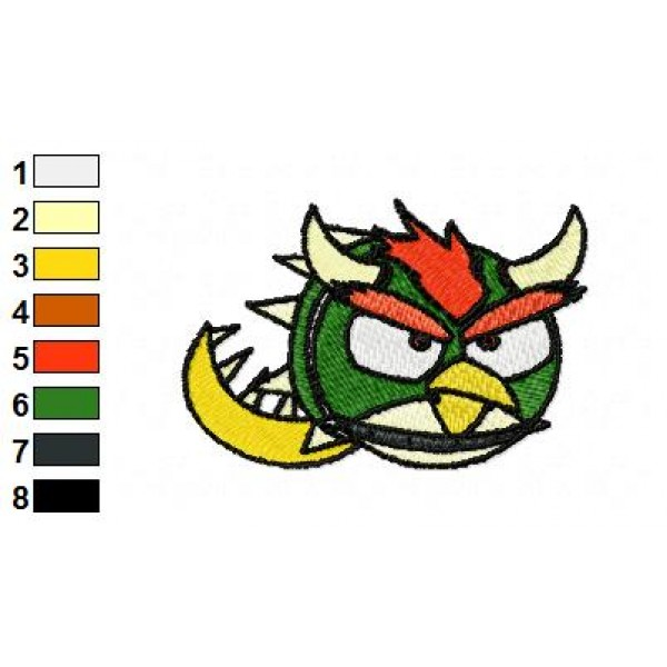 Angry birds space embroidery design 21 for Space embroidery designs