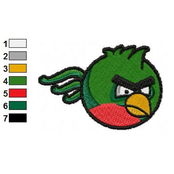 Angry birds space embroidery design 23 for Space embroidery patterns