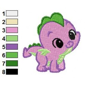 MY LITTLE PONY EMBROIDERY MACHINE DESIGNS - PACK OF 13 - MUST HAVE