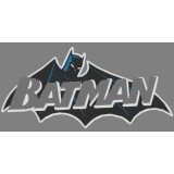 Batman Embroidery Design 02