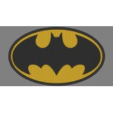 Batman Logo Embroidery Design 02