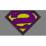 Bizarro Superman Embroidery Design