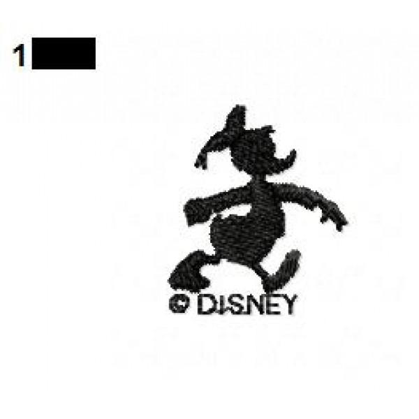 Donald Duck Silhouette