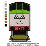 Boco Thomas The Train Embroidery Design