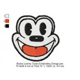 Bosko Looney Tunes Embroidery Design