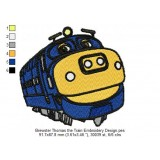 Brewster Thomas the Train Embroidery Design