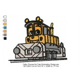 Calley Thomas the Train Embroidery Design
