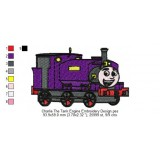 Charlie The Tank Engine Embroidery Design