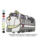 Chatsworth Thomas the Train Embroidery Design
