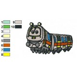 Chuggington Emery Embroidery Design