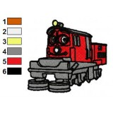 Chuggington Irving Embroidery Design