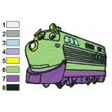 Chuggington Koko Embroidery Design