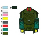 Chuggington Olwin Embroidery Design