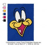 Correcaminos Looney Tunes Embroidery Design