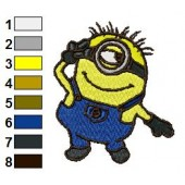 Despicable Me Embroidery Design