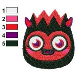 Diavlo Moshi Monsters Embroidery Design