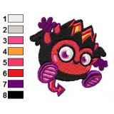 Diavlo Moshi Monsters Machine Embroidery Design 02