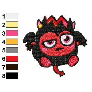 Diavlo Moshi Monsters Machine Embroidery Design 03