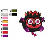 Diavlo Moshi Monsters Machine Embroidery Design