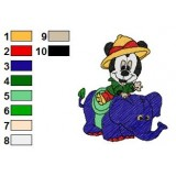Disney Babies Embroidery Design 2