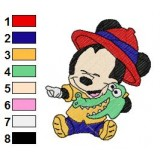 Disney Babies Embroidery Design 3