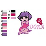 Dora Young Embroidery Design 02