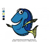 Dory Finding Nemo Embroidery Design