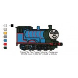 Edward The Blue Engine Embroidery Design