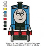 Edward The Tank Engine Embroidery Design