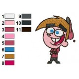 Fairly Oddparents Embroidery Design