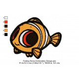 Finding Nemo Embroidery Design