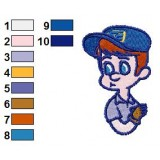 Fix It Felix Jr Embroidery Design