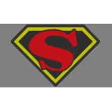 Fleischer Superman Embroidery Design