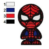 Funny SpiderMan Embroidery Design