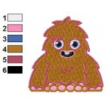 Furi Moshi Monsters Embroidery Design 02
