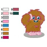Furi Moshi Monsters Embroidery Design