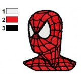 Handsom Spiderman Embroidery Design