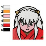 InuYasha Embroidery Design