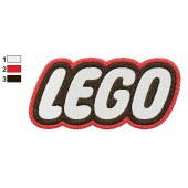 Lego Logo Embroidery Design 02