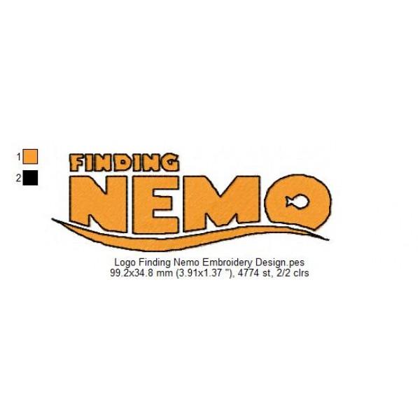 finding nemo machine embroidery designs